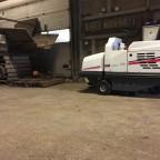 Teeltbedrijf kiest voor stofvrij vegen met de Dulevo 1100 veegmachine